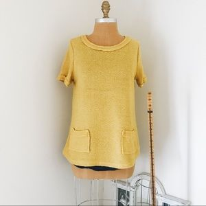 Comme Toi for Anthropologie layered sweater